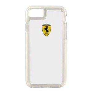 Ferrari Shockproof Hülle iPhone 7 / 8 / 9 / SE 2 Transparent FEGLHCP7TR
