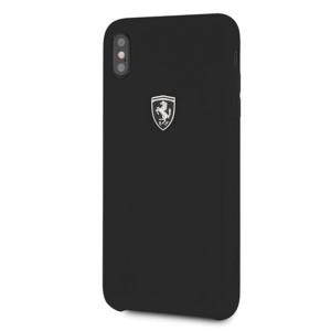 Ferrari Silikon Hülle FEOSIHCI65BK iPhone Xs Max Schwarz