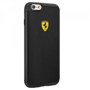Ferrari Shockproof Hülle FESPHCP6BK iPhone 6 / 6S Schwarz