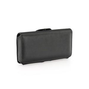 Horizontal Gürteltasche Samsung S5 / J3 / A5 / Huawei Y5 mit Gürtelclip und Sicherheitsschlaufe