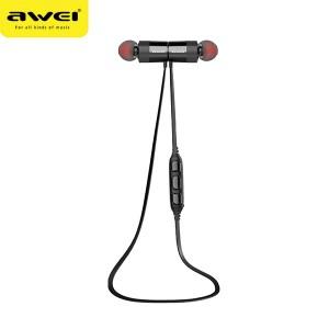 AWEI Bluetooth Stereo Kopfhörer AK 2 schwarz Magnetschalter