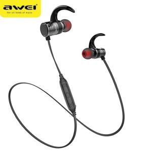 AWEI AK7 Bluetooth Stereo Kopfhörer schwarz Magnetschalter