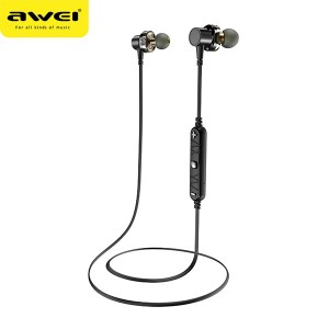 AWEI Stereo Bluetooth X660BL Schwarz Dual Dynamic Drivers