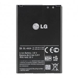 Original LG Akku BL-44JH L7 Optimus P700  L5 II E460/L5 II Dual E455 1650mAh
