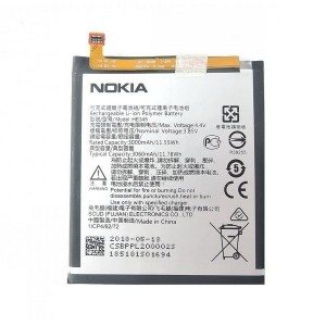 Original Nokia Akku 6 2018 HE345 3000mAh
