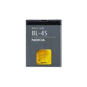 Original Nokia Akku BL-4S 2680s / 3600s / 3710f / 7020 / 7100s / 7610 Supernova / X3 Touch 860mAh