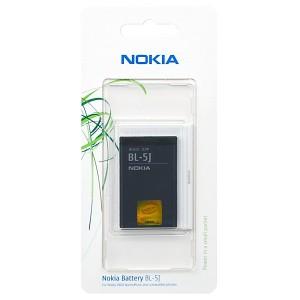 Original Nokia Akku BL-5J 5228 / 5230 XM / 5800 XM / N900 / C3 / X1-00 / X1-01 / X6 1430mAh