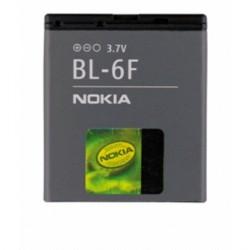 Original Nokia Akku BL-6F 6210 N / 6290 / 6710 / E65 / N93i / N95 / N96 1200 mAh