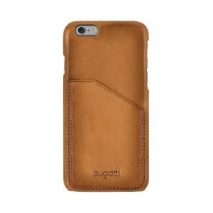 Bugatti Ledercover Londra iPhone 6s / 6 cognac / Braun