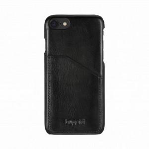 Bugatti Snap Case Londra iPhone SE 2020 / iPhone 8 / 7 Schwarz