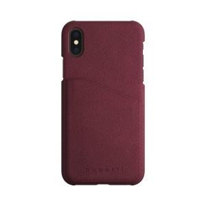 Bugatti iPhone SE2020 / 8 / 7 Ledercover Londra  Raspberry / Rot