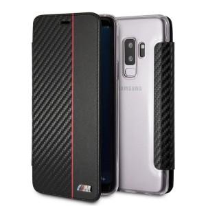 BMW M Collection Carbon Tasche BMBKTRS9LCAPRBK Samsung Galaxy S9+ Plus Schwarz