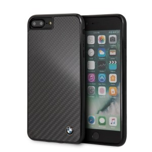 BMW Carbon Hülle BMHCI8LMBC für iPhone 8 Plus / 7 Plus Schwarz
