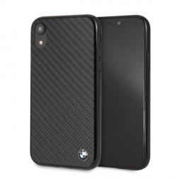 BMW Carbon Hülle / Cover BMHCI61MBC iPhone XR Schwarz