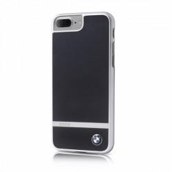 BMW Aluminium stripe BMHCP7LASBK iPhone 8 Plus / 7 Plus Schwarz