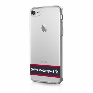 BMW TPU Hülle / Cover BMHCP7TRHNA iPhone 8 / 7 Transparent