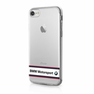BMW TPU Hülle / Cover iPhone 7 / 8 / 9 / SE 2 Transparent BMHCP7TRHWH