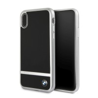 BMW Aluminium Stripe HC BMHCPXASBK iPhone Xs / X Schwarz