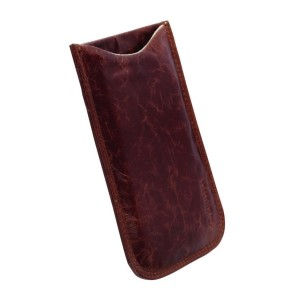 Krusell Tasche iPhone 12 Mini 6 7 8 SE2 Tumba Slim Hülle Case Echtleder Braun