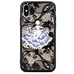Hülle / Case Lace 3D iPhone SE 2020 / iPhone 8 / 7 lady