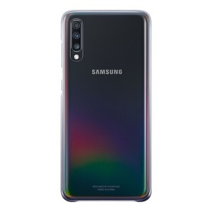 Original Samsung Gradation Cover EF-AA705CB Galaxy A70 schwarz