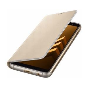 Original Samsung Flip Cover EF-FA530PF Galaxy A8 A530 2018 Gold Neon