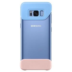 Original Samsung 2 Piece Cover EF-MG955CL Galaxy S8 Plus G955 blau