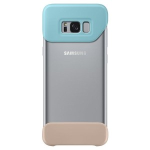 Original Samsung 2 Piece Cover EF-MG955CM Galaxy S8 Plus G955 mint