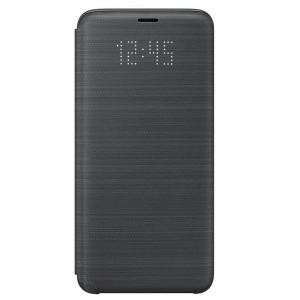 Original Samsung LED View Cover EF-NG960PB Galaxy S9 G960 schwarz