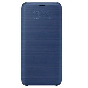 Original Samsung LED View Cover EF-NG960PL Galaxy S9 G960 blau