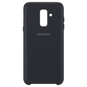 Original Samsung Dual Layer Cover EF-PA605CB Galaxy A6 Plus 2018 A605 schwarz