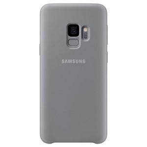 Original Samsung Silicone Cover EF-PG960TJ Galaxy S9 G960 grau