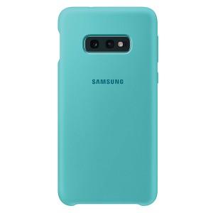 Original Samsung Silicone Cover EF-PG970TG Galaxy S10e G970 grün