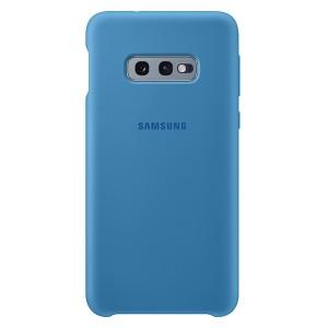 Original Samsung Silicone Cover EF-PG970TL Galaxy S10e G970 blau
