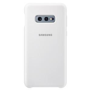 Original Samsung Silicone Cover EF-PG970TW Galaxy S10e G970 weiß