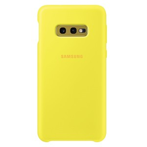 Original Samsung Silicone Cover EF-PG970TY Galaxy S10e G970 gelb