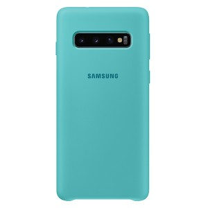 Original Samsung Silicone Cover EF-PG973TG Galaxy S10 G973 grün