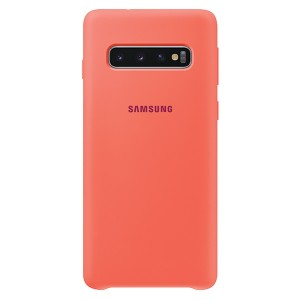 Original Samsung Silicone Cover EF-PG973TH Galaxy S10 G973 berry pink