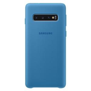 Original Samsung Silicone Cover EF-PG973TL Galaxy S10 G973 blau