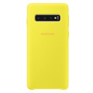 Original Samsung Silicone Cover EF-PG973TY Galaxy S10 G973 gelb