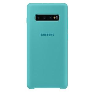 Original Samsung Silicone Cover EF-PG975TG Galaxy S10 Plus G975 grün