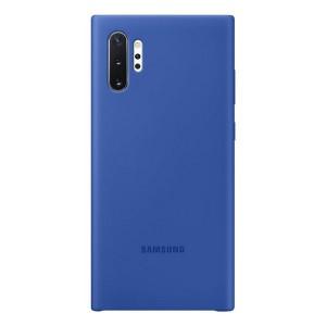 Original Samsung Silicone Cover EF-PN975TL Galaxy Note 10+ N975 blau