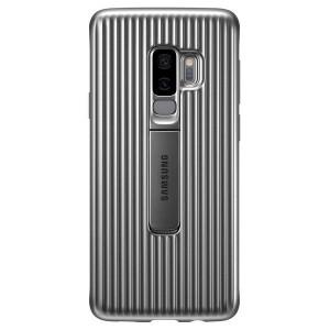 Original Samsung Protective Standing Cover EF-RG965CS Galaxy S9 Plus G965 silber