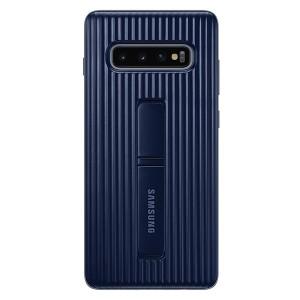 Original Samsung Protective Standing Cover EF-RG975CB Galaxy S10 Plus G975 schwarz