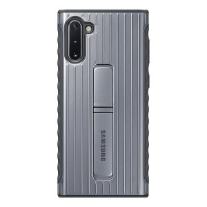 Original Samsung Protective Standing Cover EF-RN970CS Note 10 N970 silber