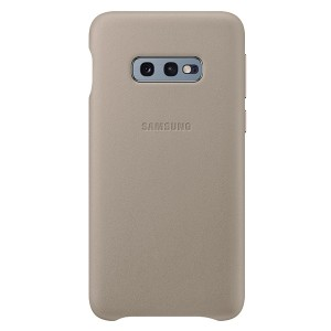 Original Samsung Leather Cover EF-VG970LJ Galaxy S10e G970 grau