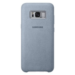 Original Samsung Alcantara Cover EF-XG955AM Galaxy S8 Plus G955 mint