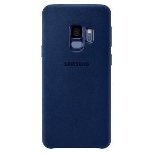 Original Samsung Alcantara Cover EF-XG960AL Galaxy S9 G960 blau