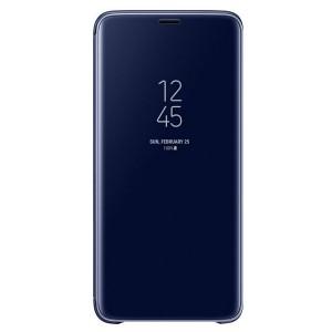 Original Samsung Clear View Standing Cover EF-ZG965CL Galaxy S9 Plus G965 blau