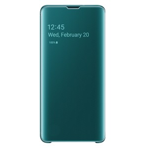 Original Samsung Clear View Cover EF-ZG973CG Galaxy S10 G973 grün